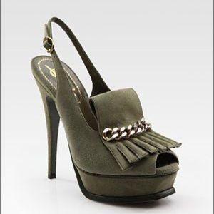 YSL Tribute sandal heels